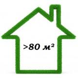 от 80 до 100 м²