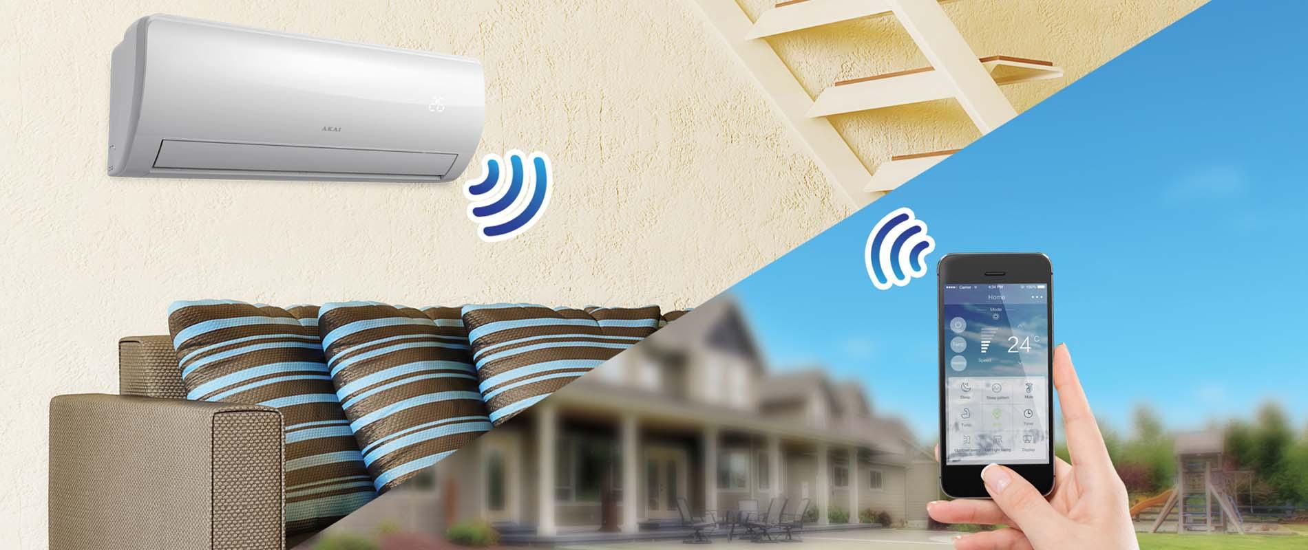 управление кондиционером по wi-fi